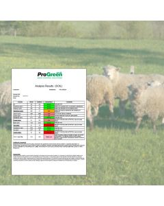 Paddock Soil Analysis for Sheep Grazing