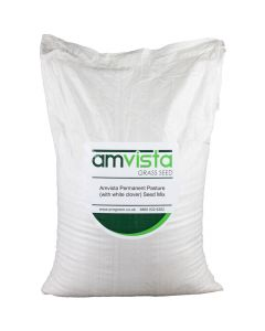 Amvista Permanent Pasture Grass Seed (with white clover)